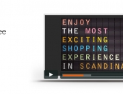 Film motion design retail commnication