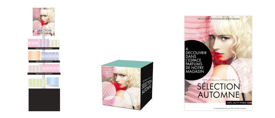 Animation et communication points de vente AELIA - Parfums