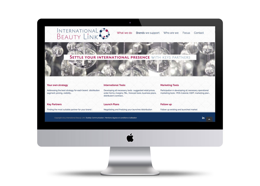 Site internet beauty Link