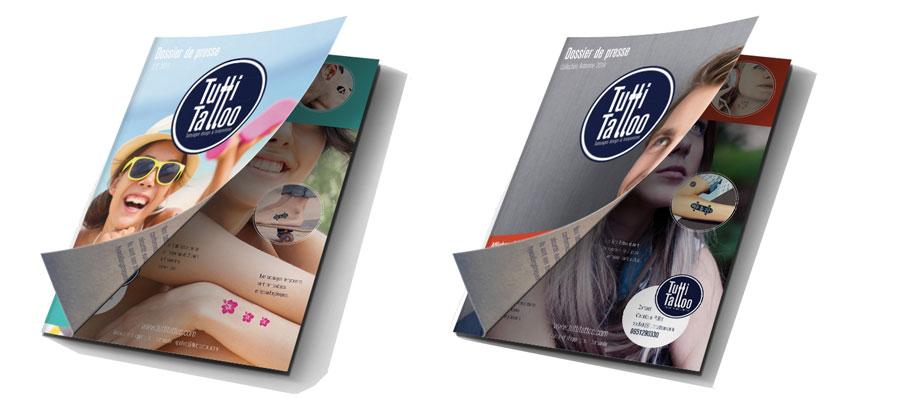 Brochure et dossier de presse