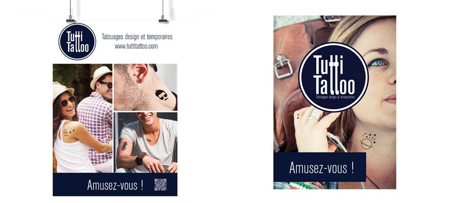Poster affiche et brochure
