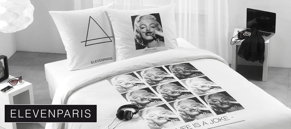 Lancement de la Collection Eleven Paris linge de lit