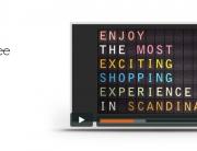 Film motion design retail commnication