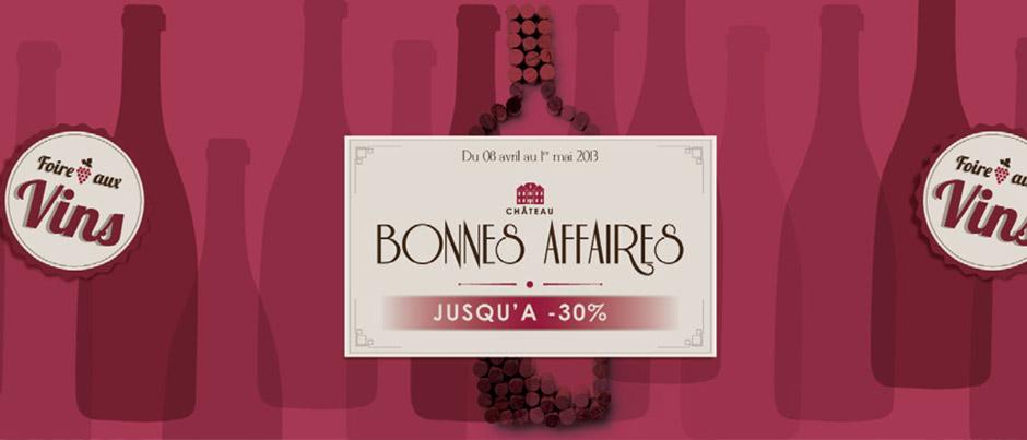 Animation et communication points de vente AELIA foire aux vins
