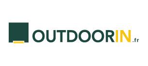 Outdoorin communication identité graphique logo site internet