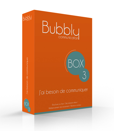 Bubbly Communication box communication business internet marchand e-commerce